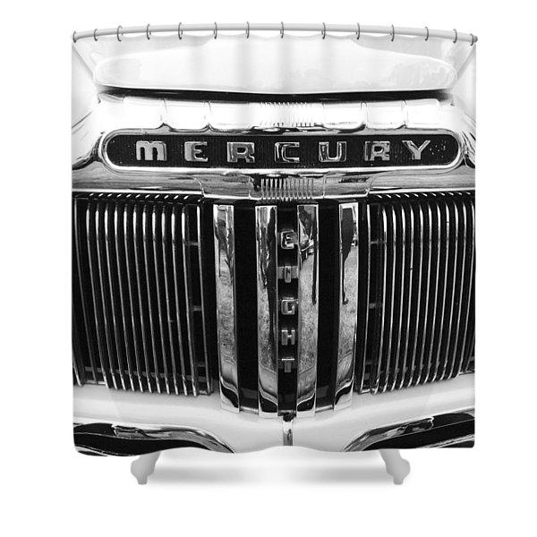 Mercury Grill Shower Curtain by Kym Backland