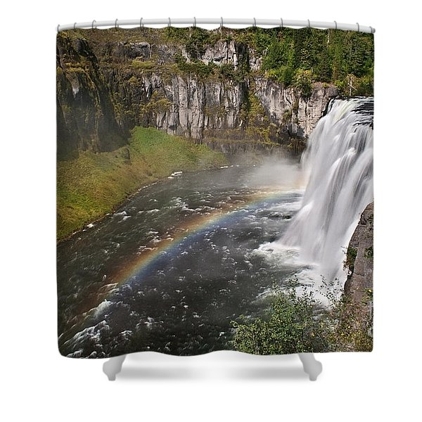 Mesa Falls II Shower Curtain by Robert Bales