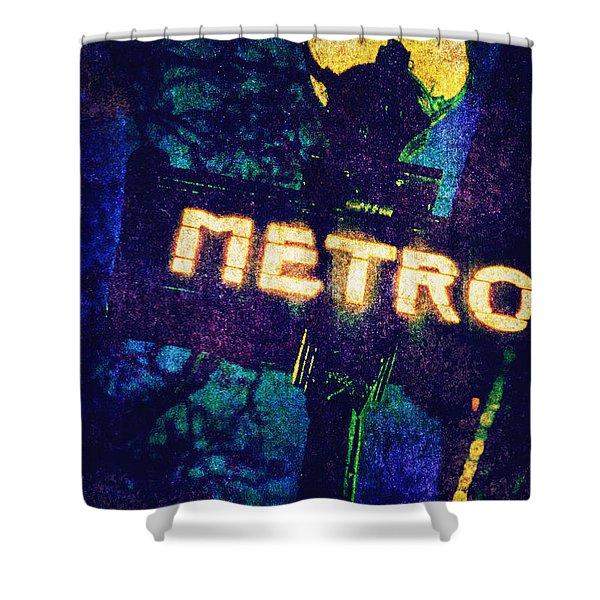 Metro Shower Curtain by Skip Nall