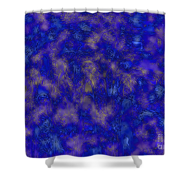 Midnight Magic Shower Curtain by Carol Groenen