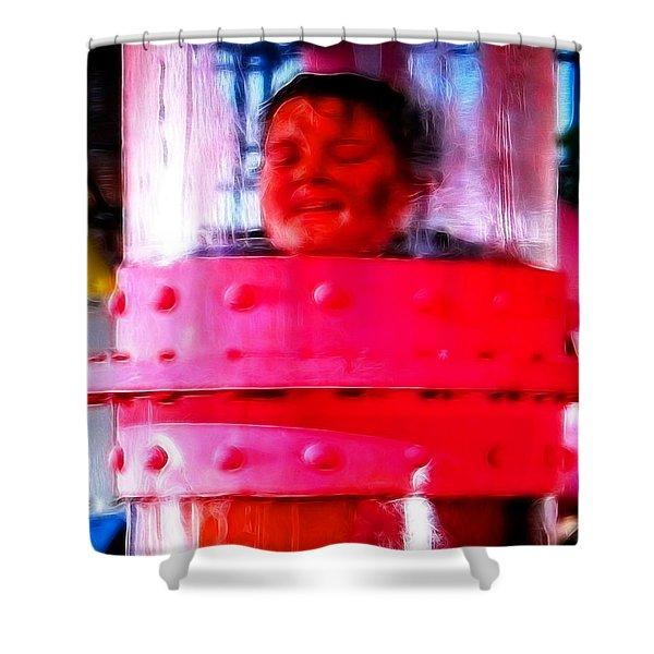 Mistical Augustus Shower Curtain by Paul Van Scott