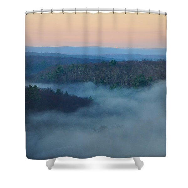 Misty Mountain Hop Shower Curtain by Bill Cannon