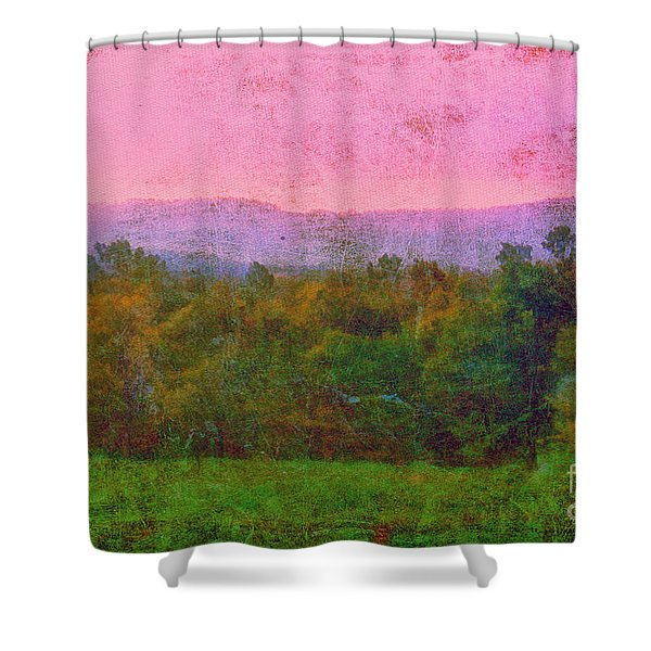 Morning In The Mountains Shower Curtain by Judi Bagwell