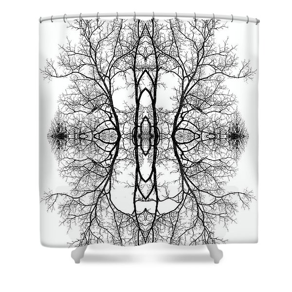 Mother Earth Shower Curtain by Debra and Dave Vanderlaan