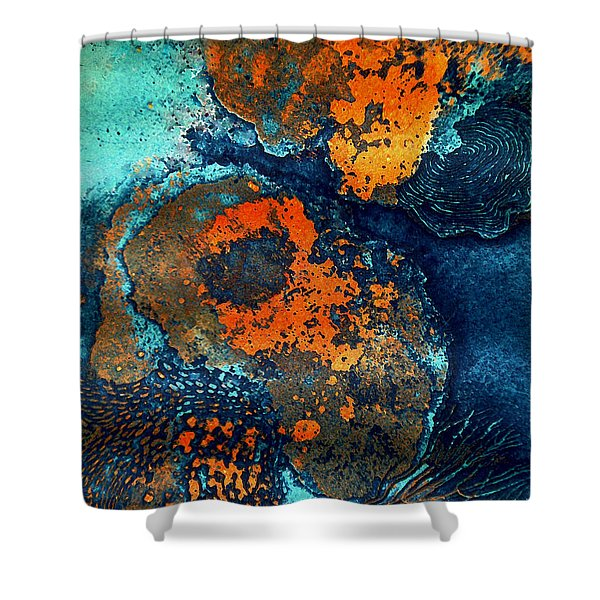Mother Earth Nature Shower Curtain by Colette V Hera  Guggenheim