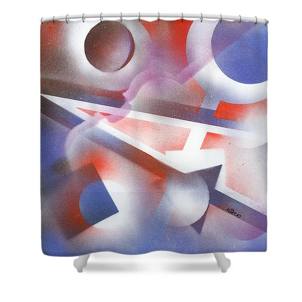 Music of the Spheres Shower Curtain by Hakon Soreide