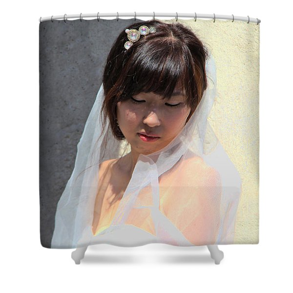 My Big Day Shower Curtain by Mariola Bitner