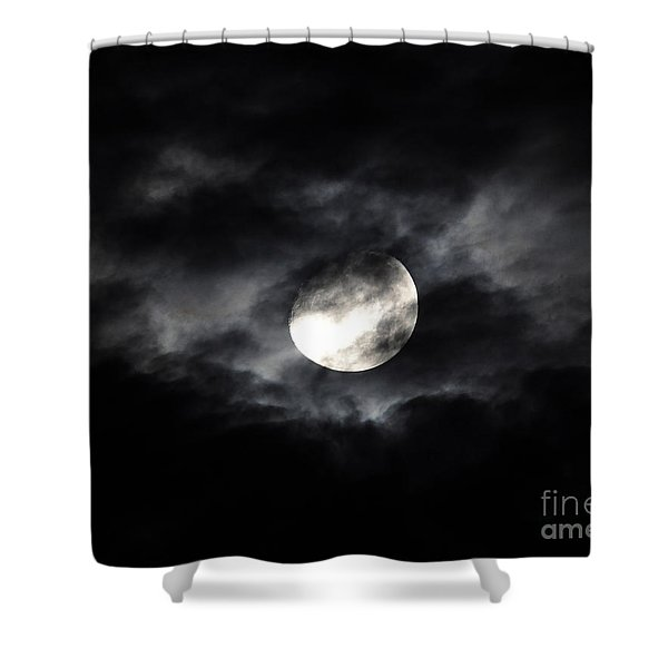 Mystic Moon Shower Curtain by Al Powell Photography USA