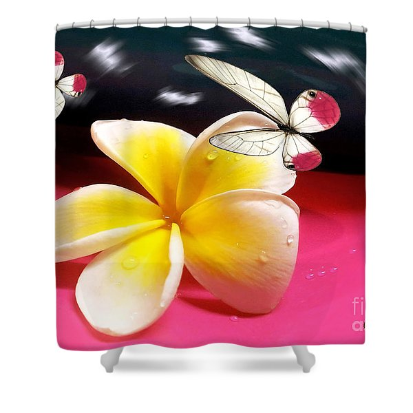 Nature In Orbit Shower Curtain by Kaye Menner