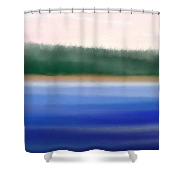 Nature Untouched Shower Curtain by Gina Lee Manley