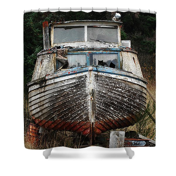 Needing Work Shower Curtain by Bob Christopher