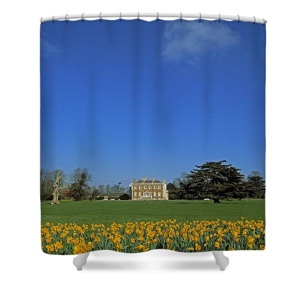Newbridge House, Donabate, Co Dublin Shower Curtain by The Irish Image Collection