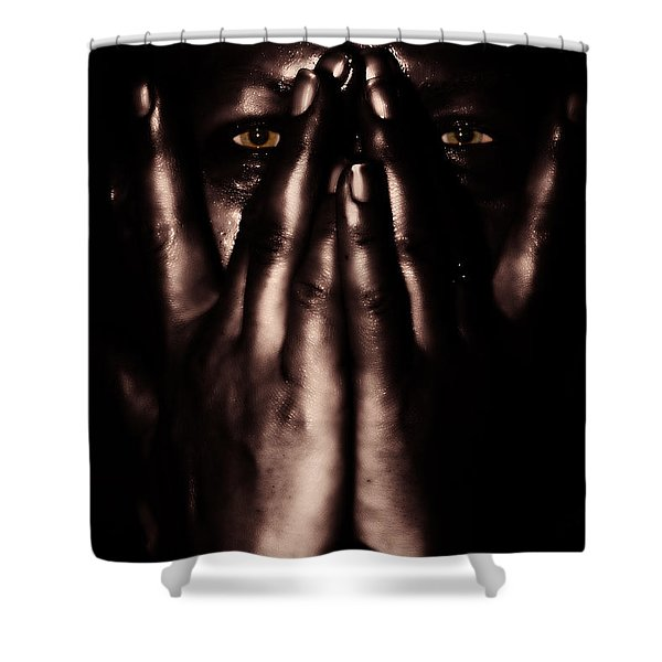 not my dark soul.. Shower Curtain by Stylianos Kleanthous