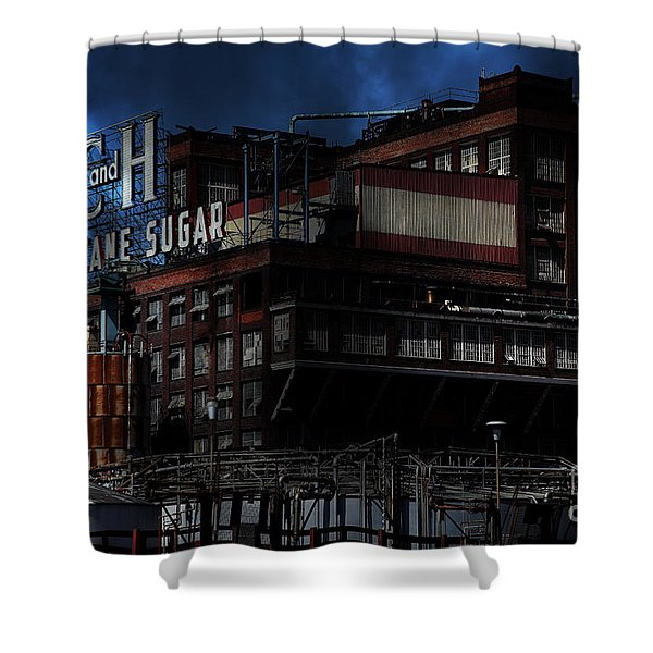 Once Upon A Time In The Sleepy Town Of Crockett California . 5d16760 Shower Curtain by Wingsdomain Art and Photography