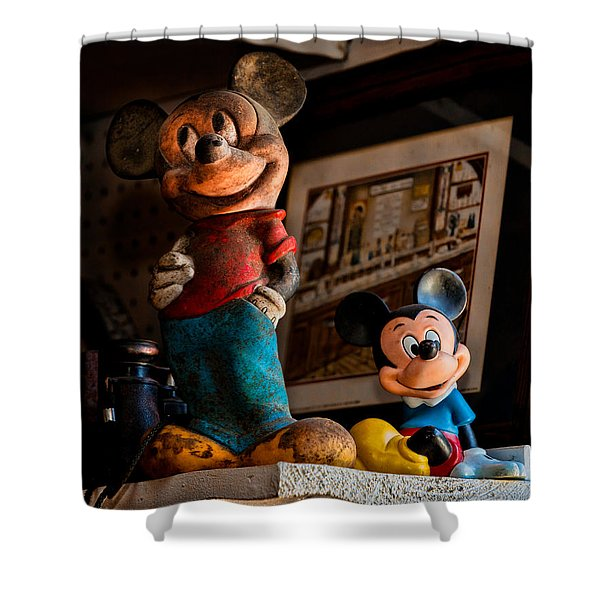Pair Of Mickies Shower Curtain by Christopher Holmes
