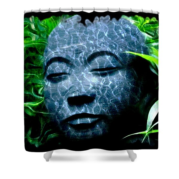 Peace and Tranquility Shower Curtain by Bill Cannon