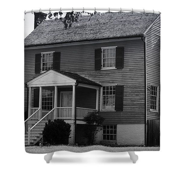 Peers House Appomattox County Court House Virginia Shower Curtain by Teresa Mucha