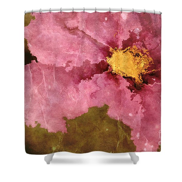 Petaline - ar01bt04c2 Shower Curtain by Variance Collections