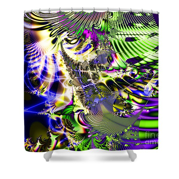 Phantasm Shower Curtain by Wingsdomain Art and Photography