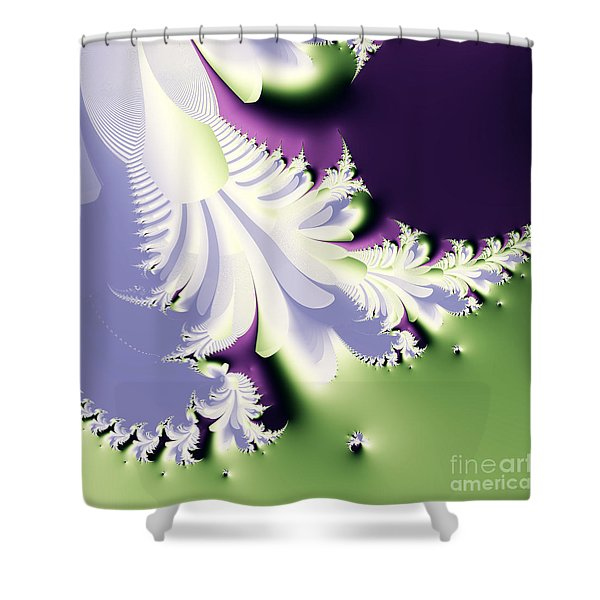 Phantom Shower Curtain by Wingsdomain Art and Photography