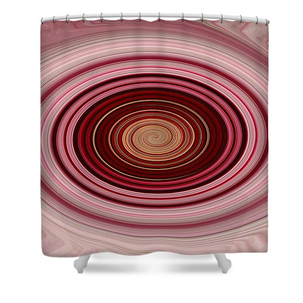 Pink Vortex Shower Curtain by Aimee L Maher Photography and Art