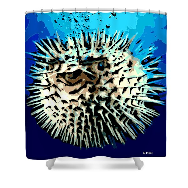 Pointed Opinion Shower Curtain by George Pedro