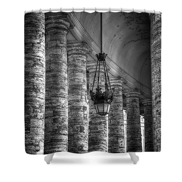 portico Shower Curtain by Joana Kruse
