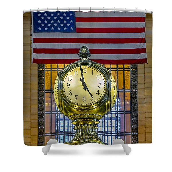 Precious Time And Colors Shower Curtain by Susan Candelario