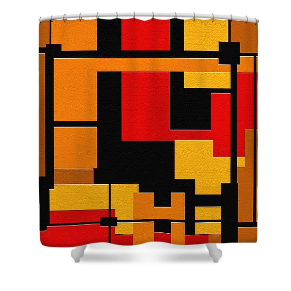 Progress Shower Curtain by Ely Arsha