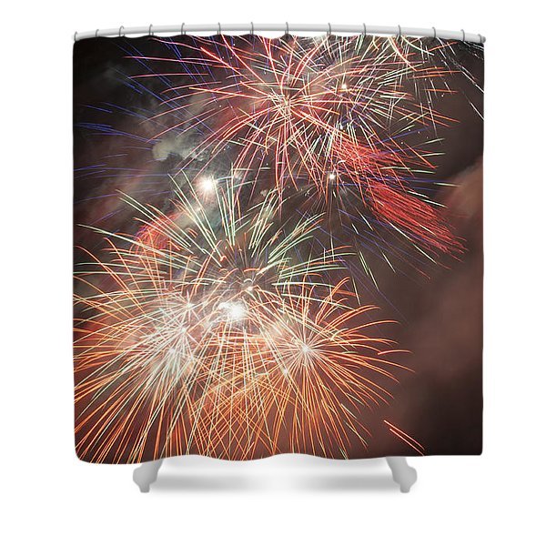 Pyros Dream Shower Curtain by Glenn Gordon