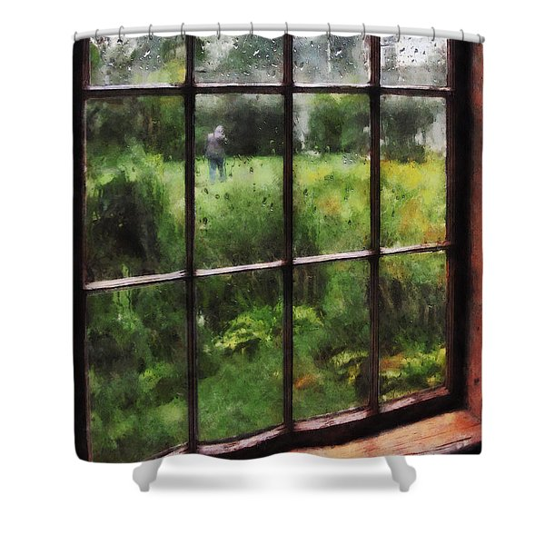 Rainy Day Shower Curtain by Susan Savad