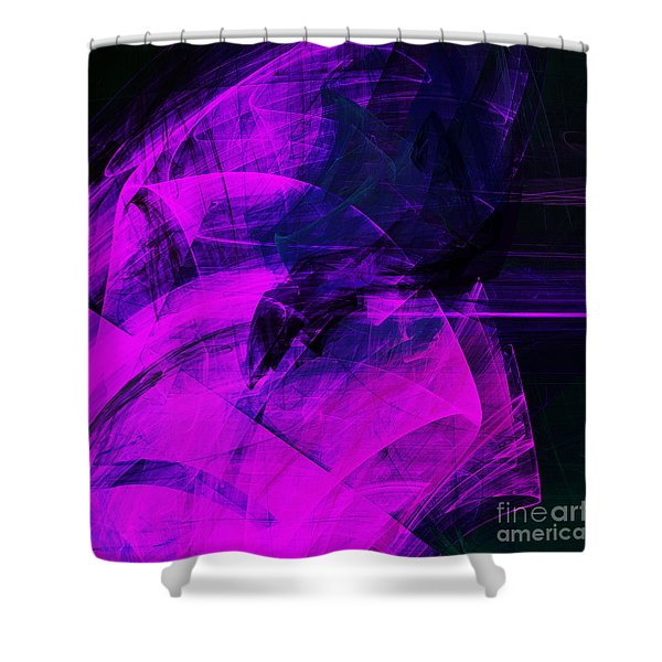 Rapture . A120423.936 Shower Curtain by Wingsdomain Art and Photography