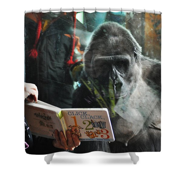 Reading Is Fundamental Shower Curtain by Bill Cannon