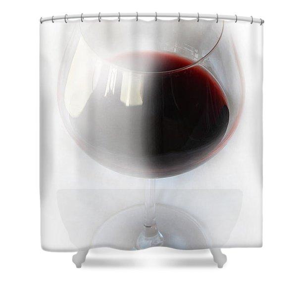 Red Wine Shower Curtain by Kume Bryant