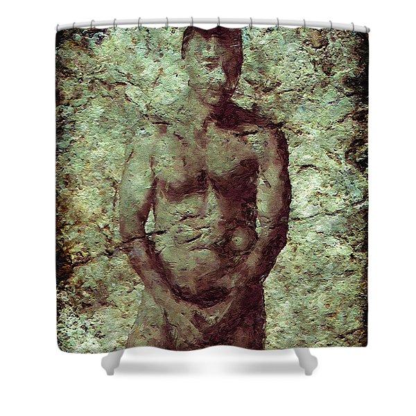 Redemption Shower Curtain by Kurt Van Wagner