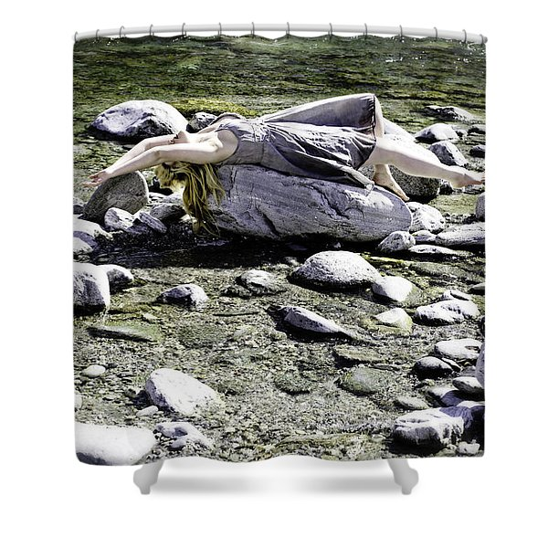 Relax Shower Curtain by Joana Kruse