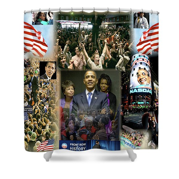 Respectfully Yours..... Mr. President 2 Shower Curtain by Terry Wallace