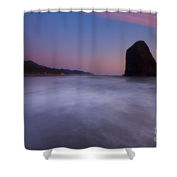 Rising Tide Shower Curtain by Mike  Dawson