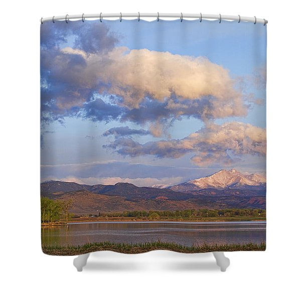 Rocky Mountain Early Morning View Shower Curtain by James BO  Insogna