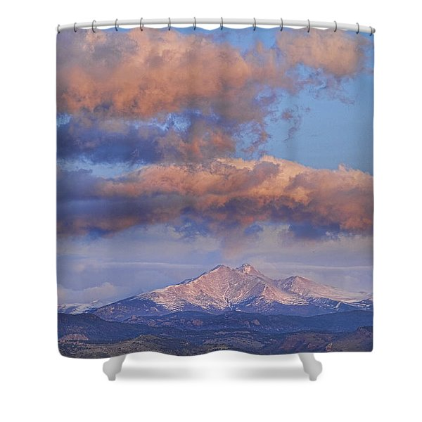 Rocky Mountain Sunrise Shower Curtain by James BO  Insogna