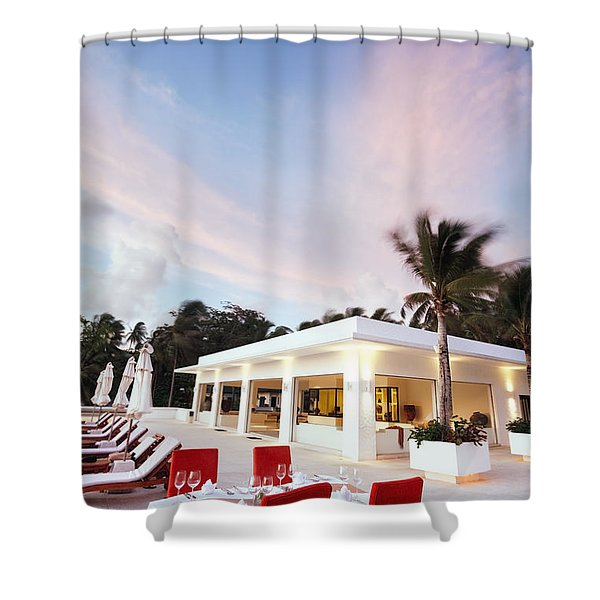 Romantic Place Shower Curtain by Setsiri Silapasuwanchai