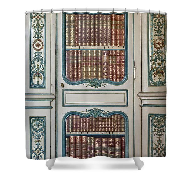 Royal Books Shower Curtain by Nomad Art And  Design