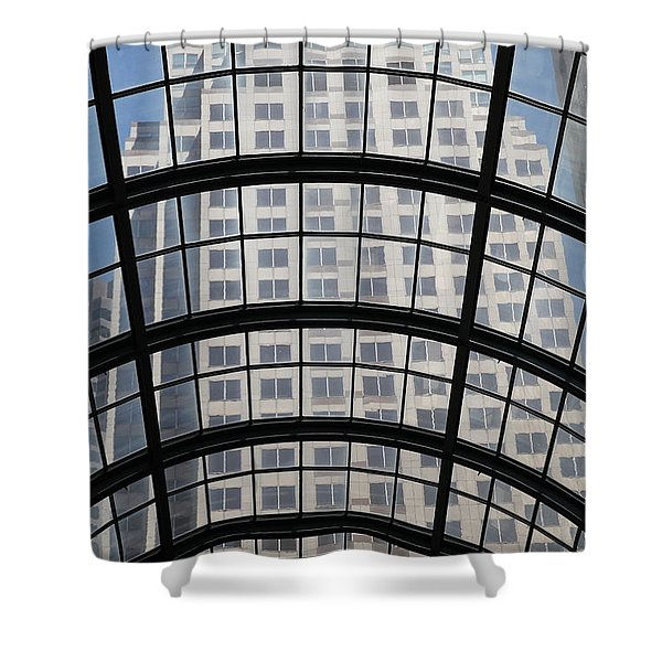 San Francisco Galleria - 5d17073 Shower Curtain by Wingsdomain Art and Photography