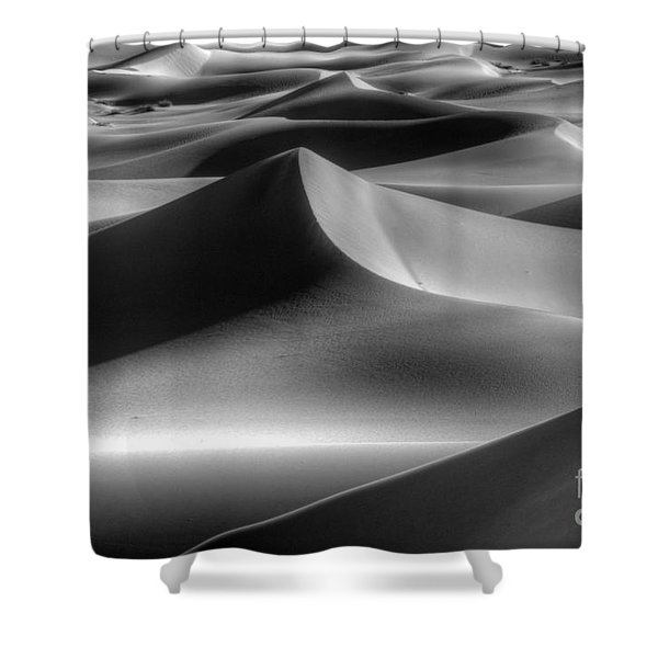 Sands Of Time Shower Curtain by Bob Christopher
