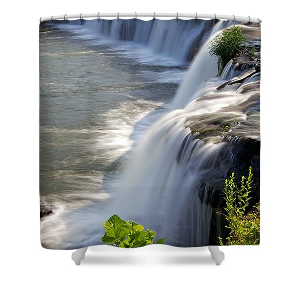 Sandstone Falls Wv Shower Curtain by Sean Cupp