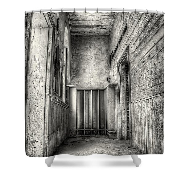 School Days Long Past Shower Curtain by Scott Norris