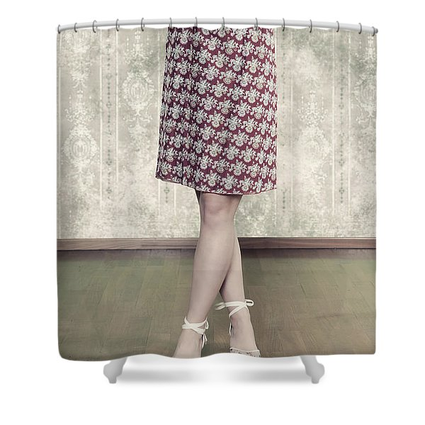 self-confidence Shower Curtain by Joana Kruse
