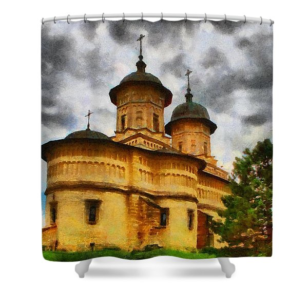Shelter From The Coming Storm Shower Curtain by Jeff Kolker