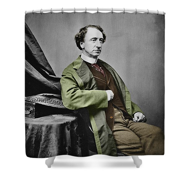 Sir John A. Macdonald Shower Curtain by Andrew Fare