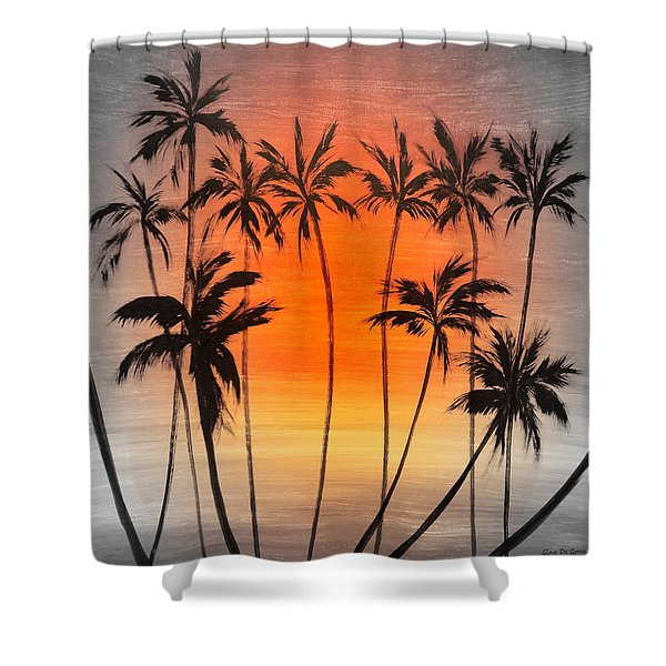 Shower Curtains - Smooth Jazz 22 Shower Curtain by Gina De Gorna